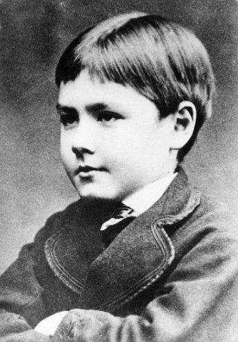 Rudyard Kipling (1865-1936) âgé de 5 ans