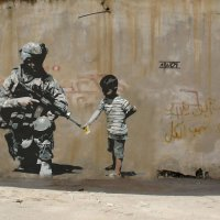Boris Vian (1920-1959) / Banksy (contemporain) § antimilitarisme