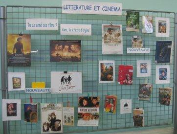 Panneau_litterature_et_cinema