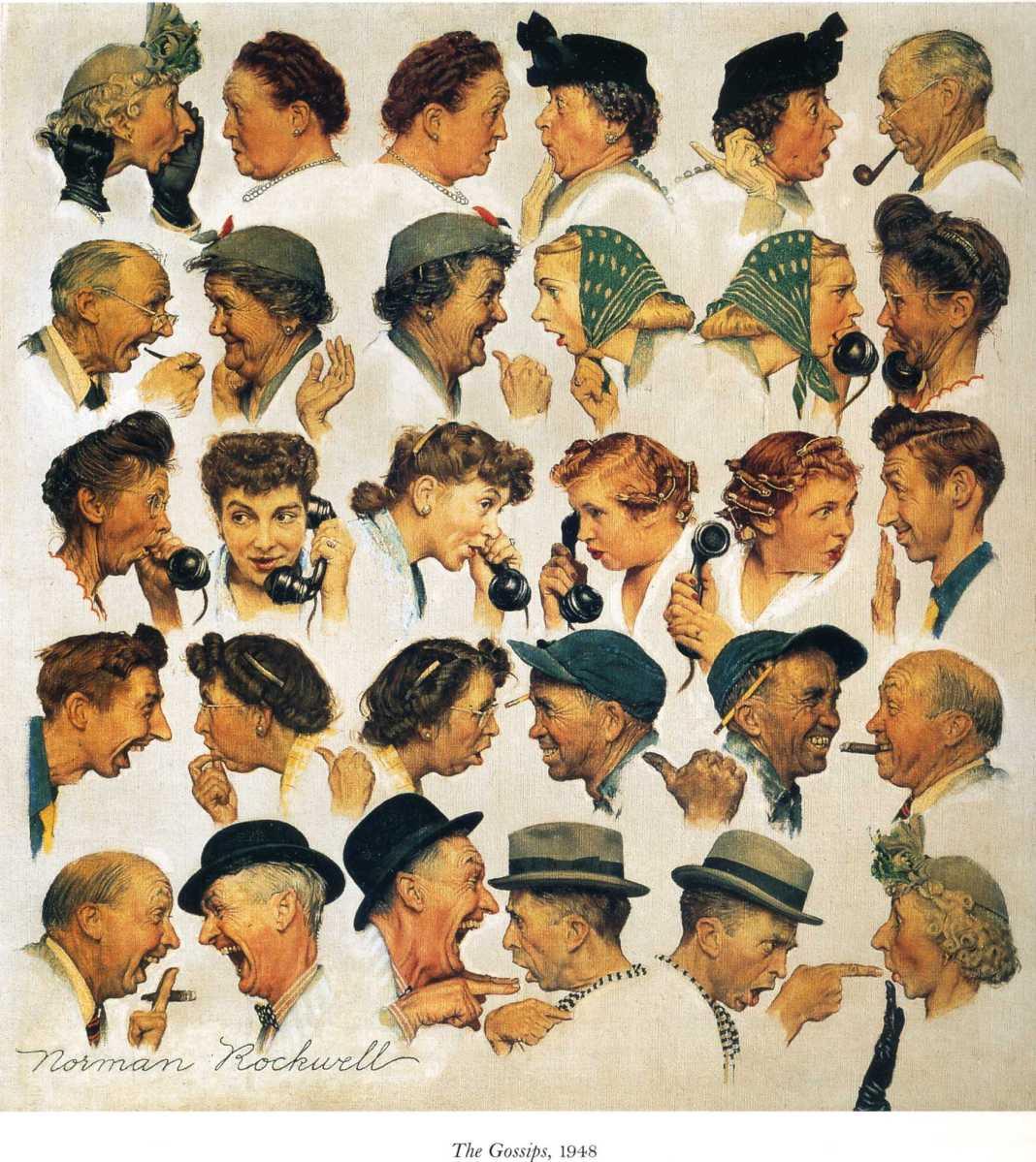 Norman Rockwell (1894-1978) § Hyperréalisme