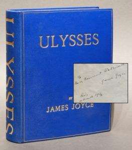Joyce Ulysses with sig 500