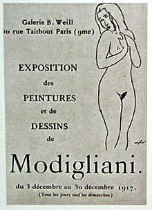 220px-Amedeo-Modigliani-berthe-weill-first-oneman-exhibition-nudes-1917-paris