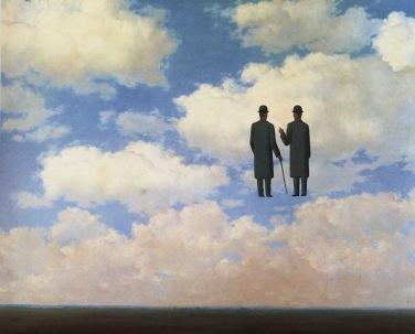 1963_Magritte_La_Reconnaissance_infinie_81x100_cm