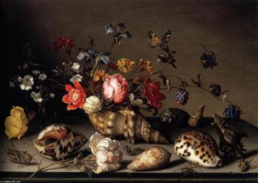 Balthasar-Van-Der-Ast-Still-Life-of-Flowers-Shells-and-Insects-2-