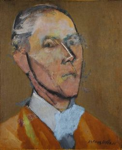 Jacques Villon, autoportrait, 1923.