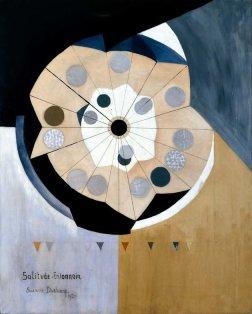 """Suzanne Duchamp (1889-1963). Elle épouse le peintre Jean Joseph Crotti en 1919. Rouen, expo """"les Duchamps""""(1967)."""