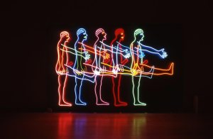 Bruce-Nauman-Five-Marching-Men