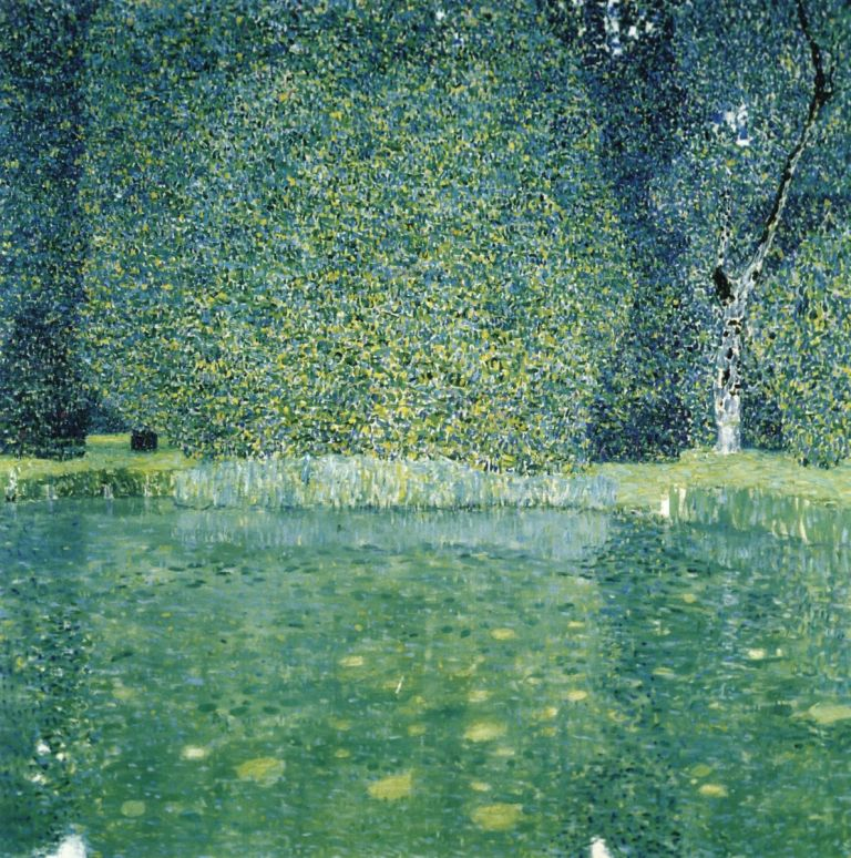 Gustav Klimt, The Park of Schloss Kammer, ca, 1910(1)