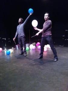 Scène Andromaque Ballons