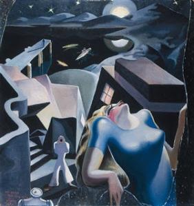 WILFREDO+LAM-1930+Composición,+I