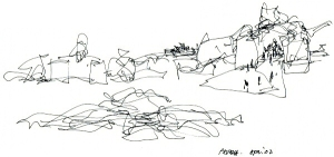 frank-gehry-sketch-via-Gehry-Partners