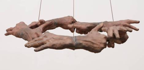 Untitled (Hand Circle) 1996 by Bruce Nauman born 1941