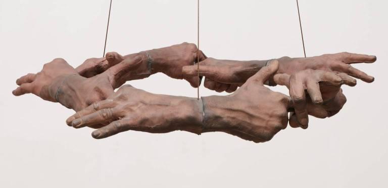 Untitled (Hand Circle) 1996 by Bruce Nauman born 1941