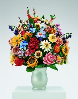 Large Vase of Flowers, Jeff Koons, 1991 © Jeff Koons