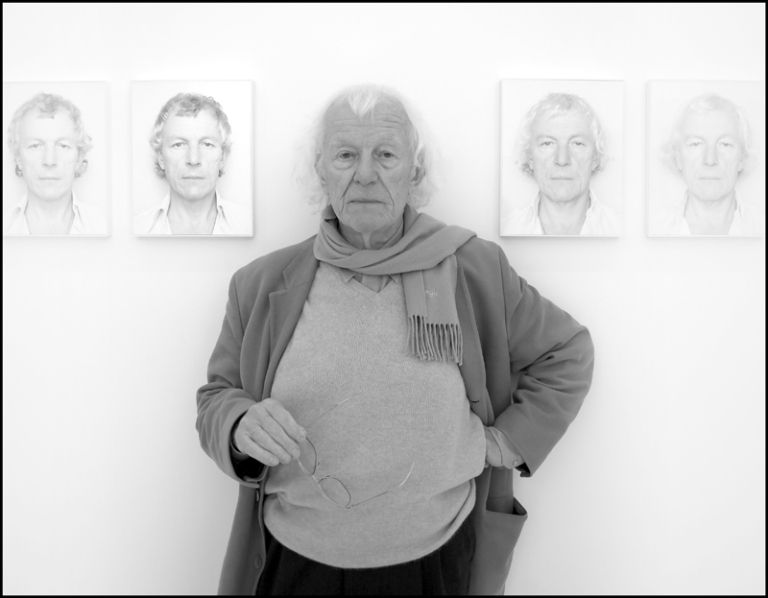 Portrait Roman Opalka