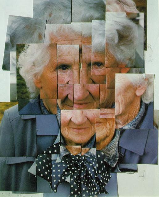 1985-HOCKNEY David, Mother 1, Yorkshire moors, 1985, collage photographique, propriété de l'artiste