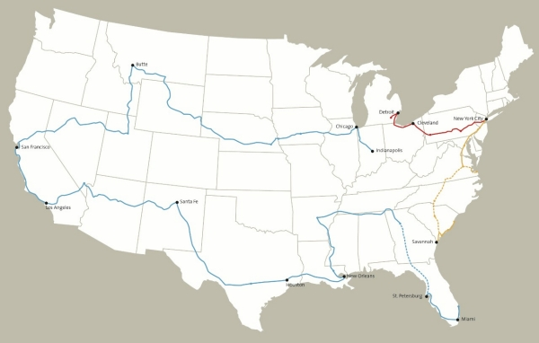 Franks-Map