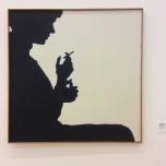 Sombra projectado de Claudine Bury, 1964