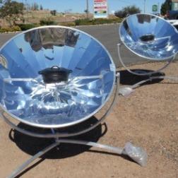 Sun cookers utilisés dans le Tiers-Monde