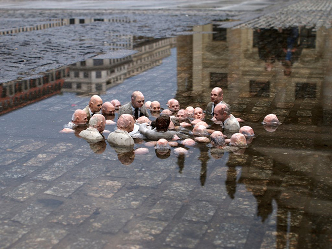 Global-warming-issac-cordal
