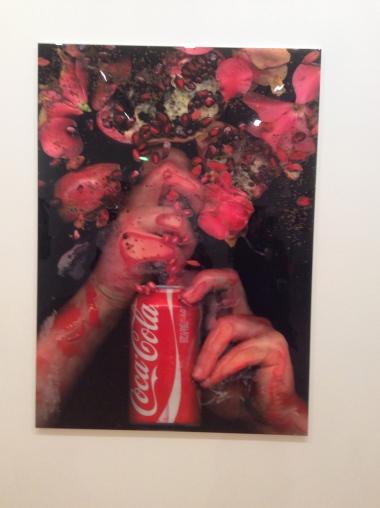 Lucy Stahl, Identity Impression numérique, aluminium, résine expoxy, 120 x 167 cm