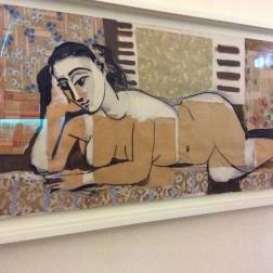 """""""Femme nue allongée"""", 1955"""