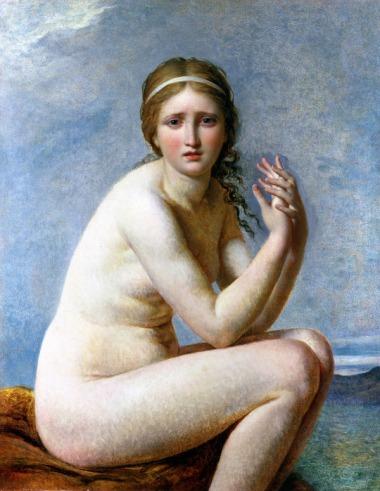"""Psyché abandonnée"""" J-L David(1795)"""