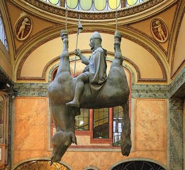 """David Cerny, """"Horse"""", 1999"""