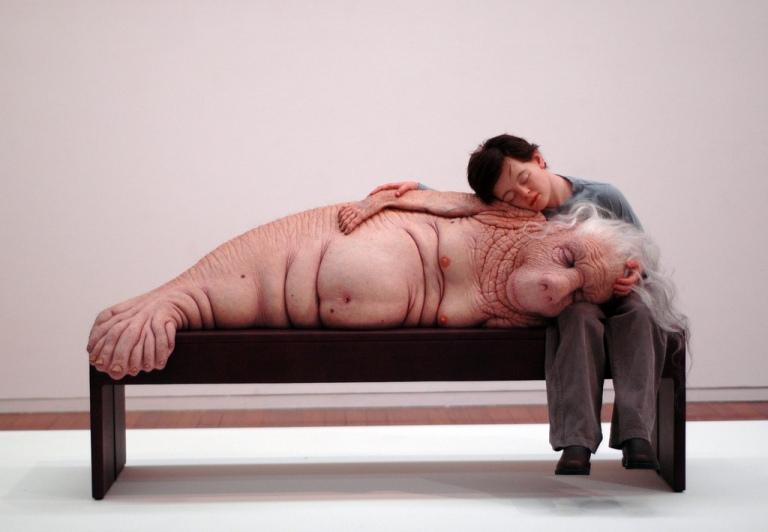 Patricia-Piccinini-sculpture