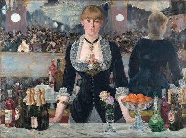 """Edouard Manet, """"Un bar aux Folies Bergères"""", 1880"""