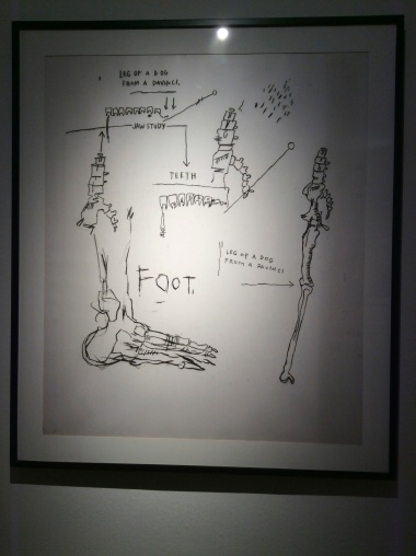 "Jean-Michel Basquiat, ""Anatomy"", 1982"