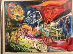 """Asger Jörn, """"Les ménestrels de Meigle"""", 1966"""