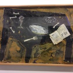 "Miquel Barcelo, ""La table fin"", vers 1983"