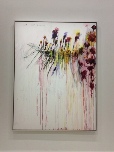 "Cy Twombly, ""Coronation of Sesostris"", (2000)"