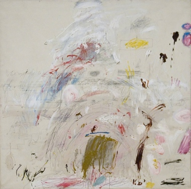 "Cy Twombly, ""School of Athens"", 1961"