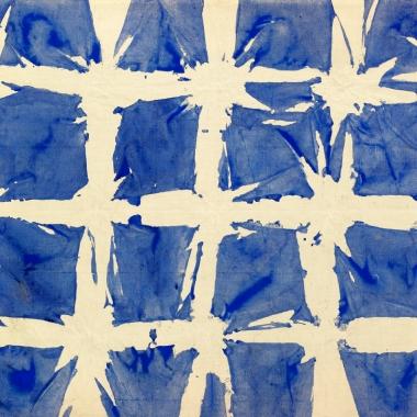 Tabula, 1980. Acrylic sur toile, 43x52 cm