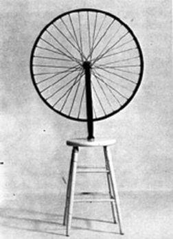 La roue de bicyclette, Marcel Duchamp
