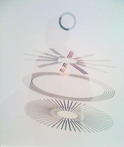 les témoins oculiste (Grand Verre), Marcel Duchamp