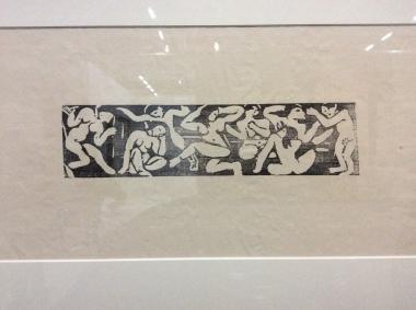 """André Derain, Frise, """"Huit nus dansants et accroupis, vers 1906, Kunstmuseum Berne."""