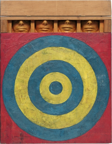 Jasper Johns, Target with 4 faces, 1955
