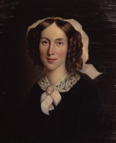 """Martin Rehder, """"Fanny Henriette Jenisch"""", 1897, huile sur toile,"""