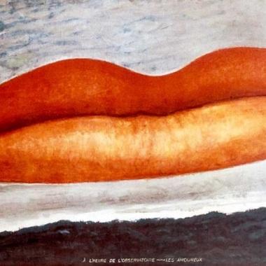 """Man Ray, """"A l'heure de l'observatoire-Les amoureux"""", 1934"""