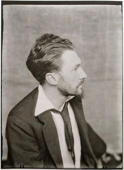 Ezra Pound par Man Ray