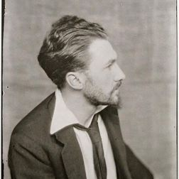 Ezra Pound par Man Ray