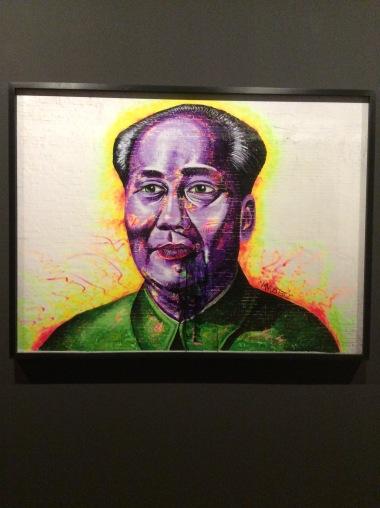 "Liu Bolin, ""Head Portrait (Mao)"", 2012"