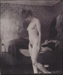 L'artiste et son modèle, 1907