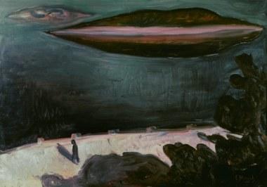 """Edvard Munch, """"Nuit d'été au fjord d'Oslo"""", 1900"""