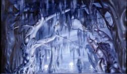"""Décor (1951)pour """"Bayou"""", ballet de Balanchine"""