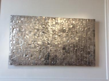 """""""Untitled (peaux)"""", 1992. Un panneau sur deux."""