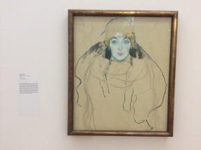Gustav Klimt, Tête de Femme, 1917